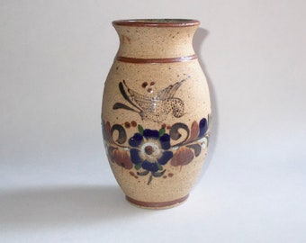 Beautiful Hand Thrown Sandstone Earthenware Brown Glazed 6 12 Inch Pottery Vase Accent Piece Home Decor