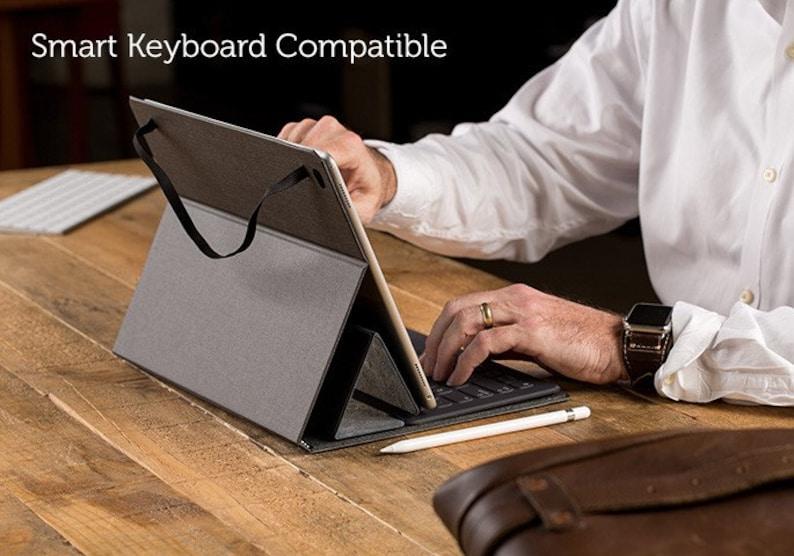 Charcoal SECONDS The Contega Thin Case for iPad Pro 9.7