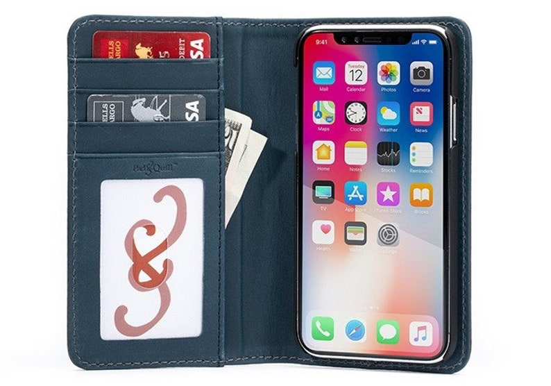 iphone xr see through wallet case