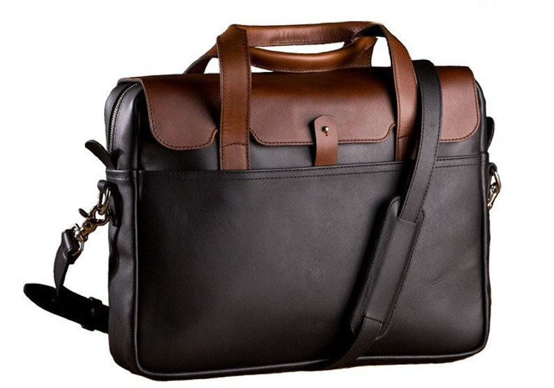 Luxury Leather Briefcase for Men Leather Laptop Briefcase  fe83044de5b1a