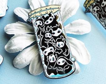 Jar of Spirits, Apothecary bottle - hard enamel pin