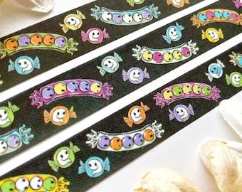 Creepy Candy Halloween washi tape - original art