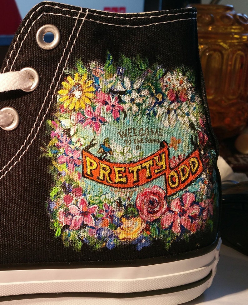 f131562f81 Panic at the Disco Shoes Custom design Hand Brush Painted