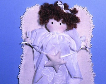 Handkerchief Angels SewSweet Dolls easy to sew doll patterns from Carolee Creations