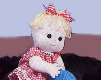 """Patty Cake 14"""" doll pattern, a SewSweet Doll from Carolee Creations"""