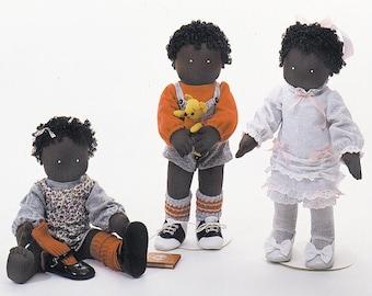 Sugar Creek Kids Easy To Sew Doll Pattern Carolee Creations
