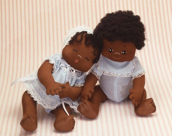 """Punkin' and Peanut 14""""  Easy To Sew Pattern from Carolee Creations SewSweet Dolls"""