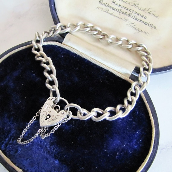 """9ct Rose Gold Heavy  Bracelet Safety Chain  1/"""" 18//18 Gauge-.375 Red"""