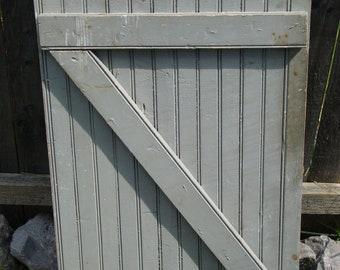 vintage door, old door, old shutter, shutter with latch vintage unique frame FREE SHIPPING