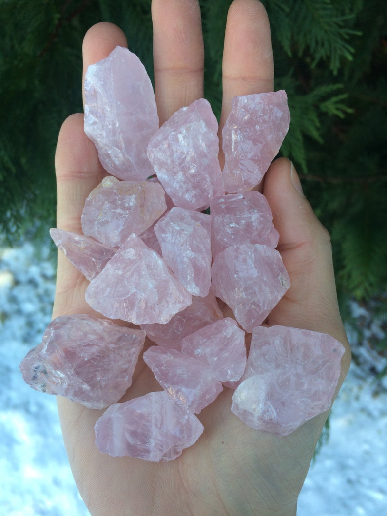 Rose Quartz Crystal  1 piece image 0