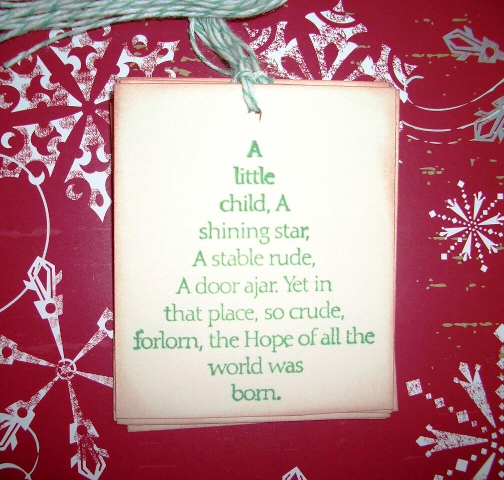 Christmas Gift Tags Christmas Tree Beautiful Christmas Etsy