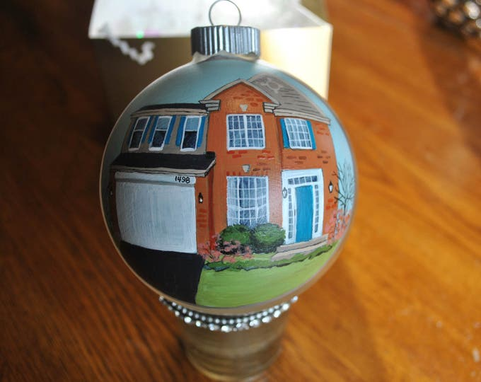 New Custom Hand Painted Home Ornament  sold