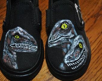 Jurassic World Velociraptor Toddler shoes size 10 ----- sorry sold