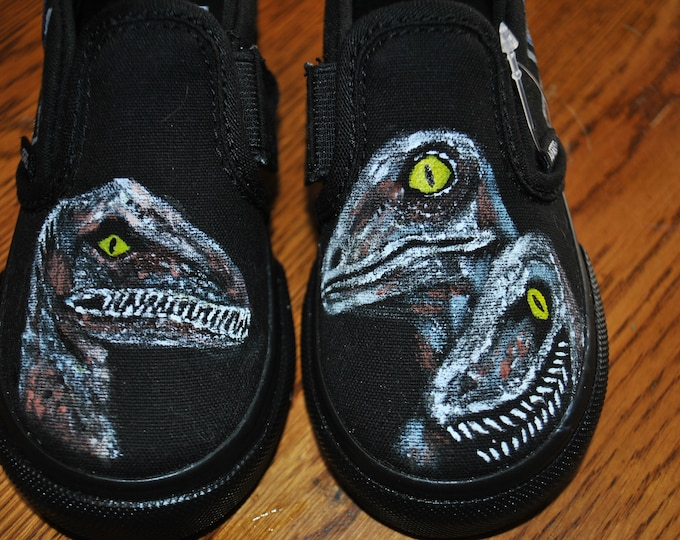 Jurassic World Velociraptor Toddler shoes size 10 ----- sorry sold