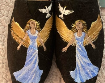 Angel shoes for Heavenly Feet sorry sold
