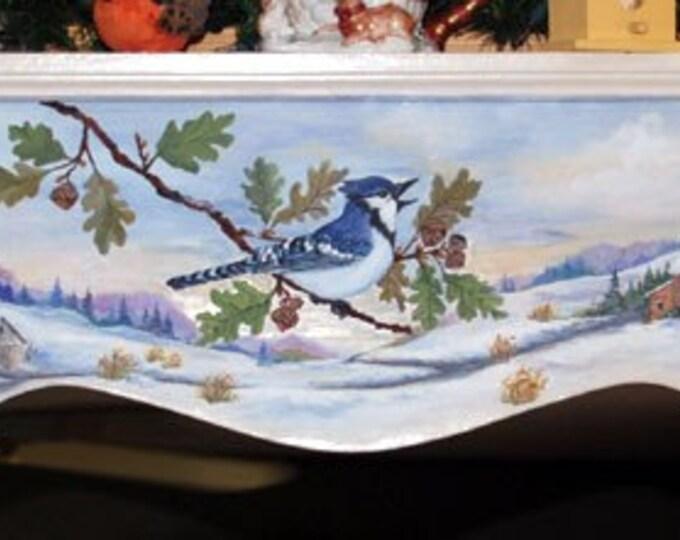 For sale Handpainted window cornice
