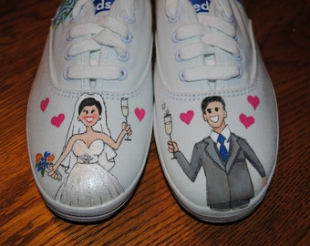 Wedding Keds Etsy