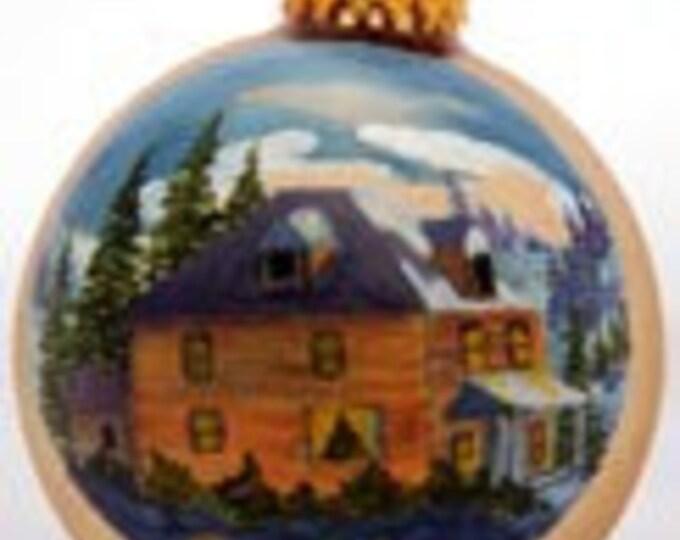 Big Yellow House ready for christmas