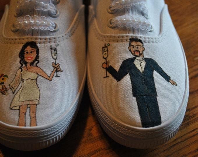 New Wedding shoe design for Bella size 6.5 - sold
