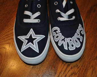 Custom Order Hand Painted Dallas Cowboys sneakers - sorry sold