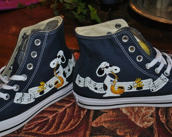 Custom Hand Painted High Tops Chuck taylor by converse shoes - sold b8032e772