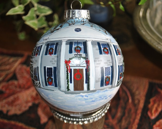 Custom Hand Painted Home Ornaments  - sold
