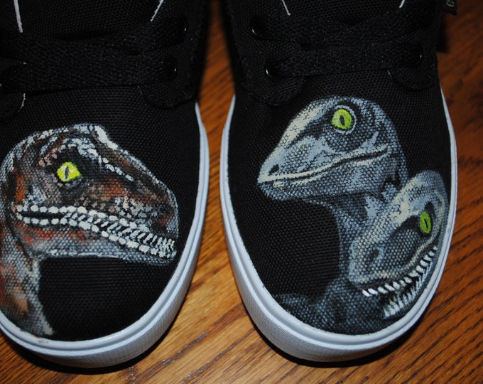 New Jurassic Park design... Velociraptor raptor lovers here you go..... Not for sale.. sold
