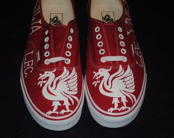 Mens Vans size 12 Liverpool Football Club  -  SOLD