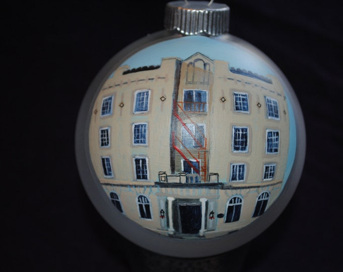 Great Christmas present Hand Painted Ornament done from Picture.....SOLD