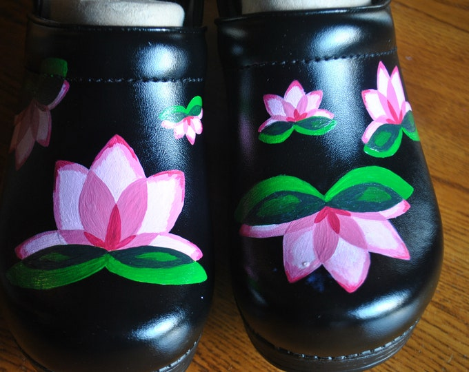 New Nursing shoe design Lotus blossoms - sorry sold Customer PROVIDED the shoes