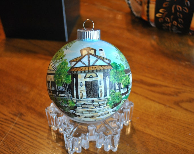 Custom Home ornament great for Christmas ornament, Anniversary gift or house warming gift.. sorry sold