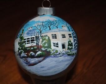 Home Sweet Home Custom Hand Painted Home Ornament