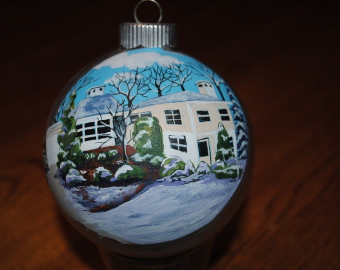 Home Sweet Home Custom Hand Painted Home Ornament