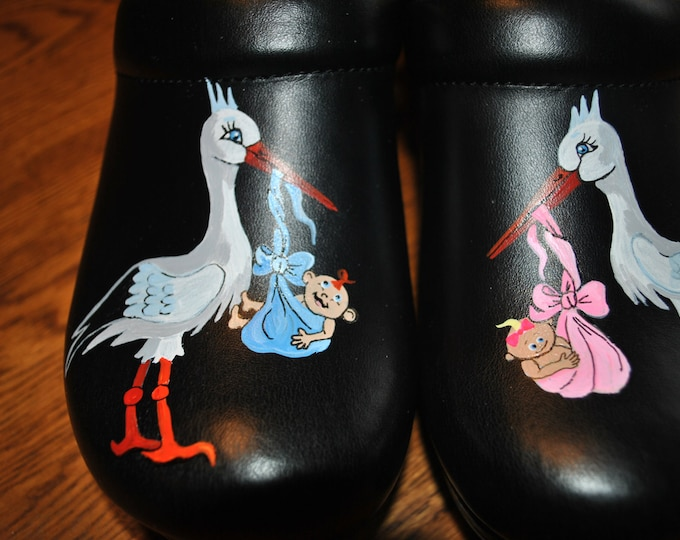 New Custom Hand Painted nursing and Midwife's Shoes dansko Pro XP 2.0 shoes included in price - sorry sold