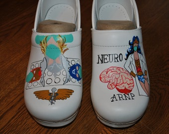 new superhero design for Neurosurgeon ARNP husband so proud of his wifey... sold sorry just a sample of what can be done.
