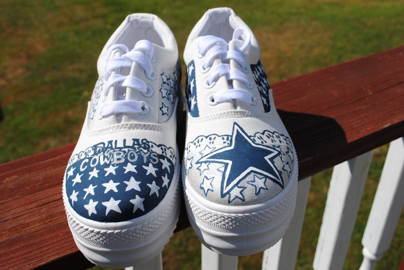 1de52c272b7a New Platform Dallas Cowboy sneakers made to order size 6