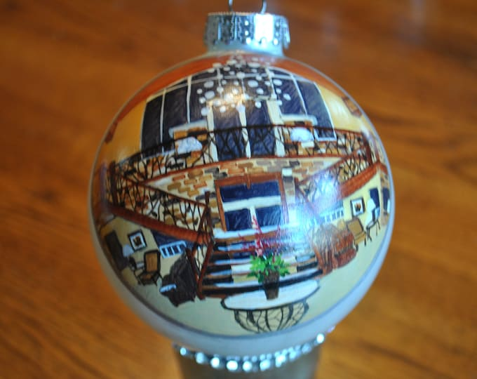 Wedding Party Memories hand painted Ornament  -sold
