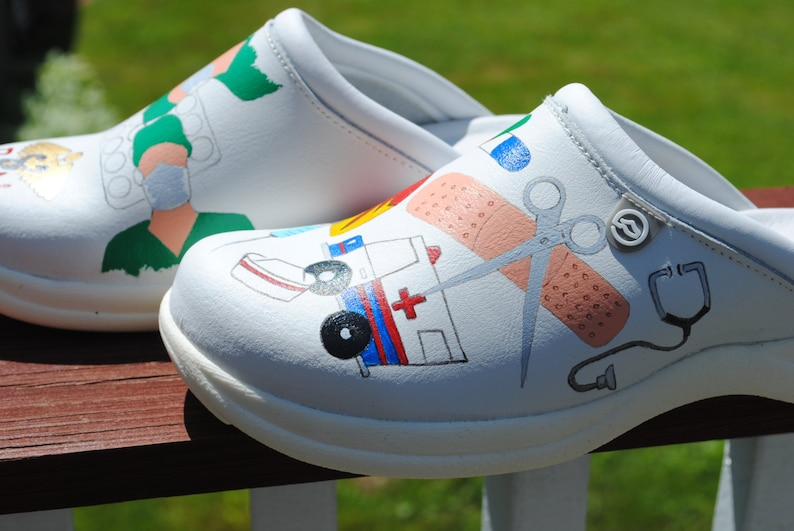 89ff92d7867fb HHHeeeyyy Surgical Nurses here is a new design for you size 8 shoes are  included- sold