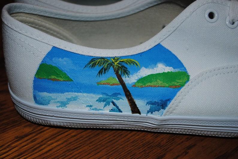 Nuovo design suo e lei Weddding scarpe. con kjv Mark 10:9 TxYJx6Qo