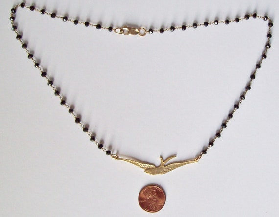 Set of 2 Bird Necklaces 2 strand Red and Silver Sterling Silver Swallow Necklace Red Rosary Chain Necklace Bird Jewels -
