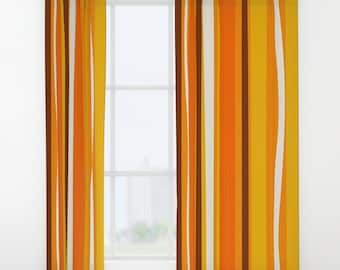 retro curtain panels mid century modern curtains modern window curtains modern drapery retro window curtains retro drapery panels - Retro Curtains