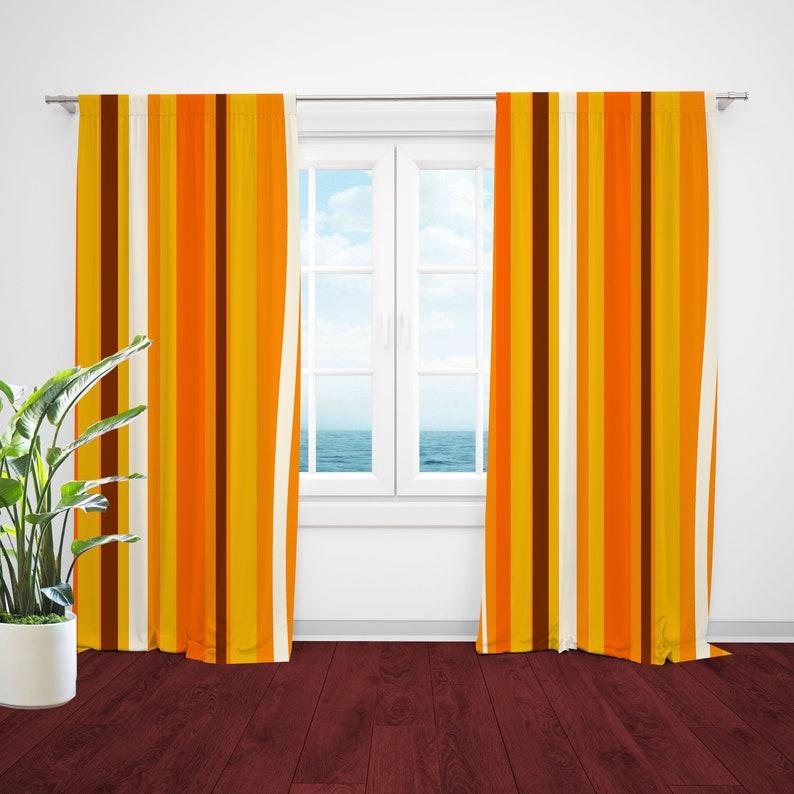 Retro Curtain Panels Mid Century Modern Modern Curtain Panel Modern Drapery Panels Retro Window Curtains Mid Century Curtains