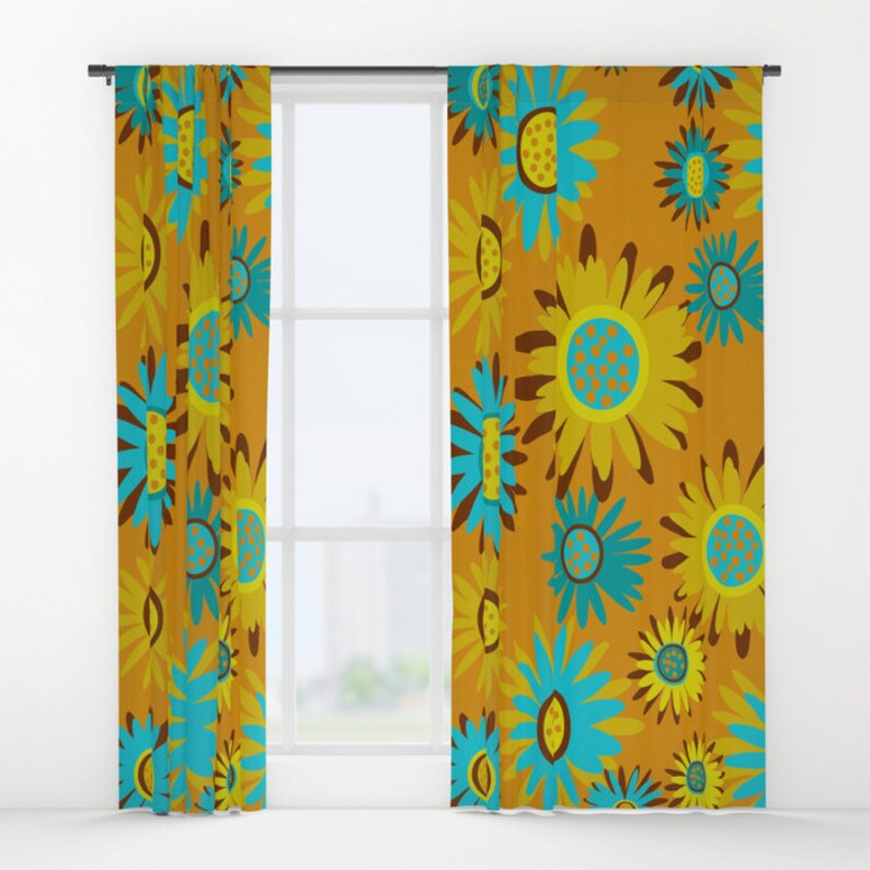 Window Curtain Panel Custom Curtain Panel Modern Curtain Panel