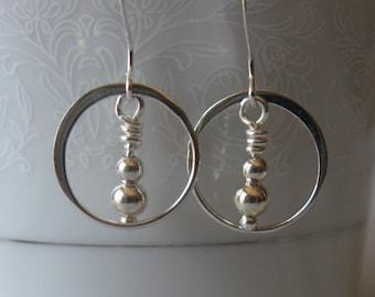 Sterling earrings - dangle