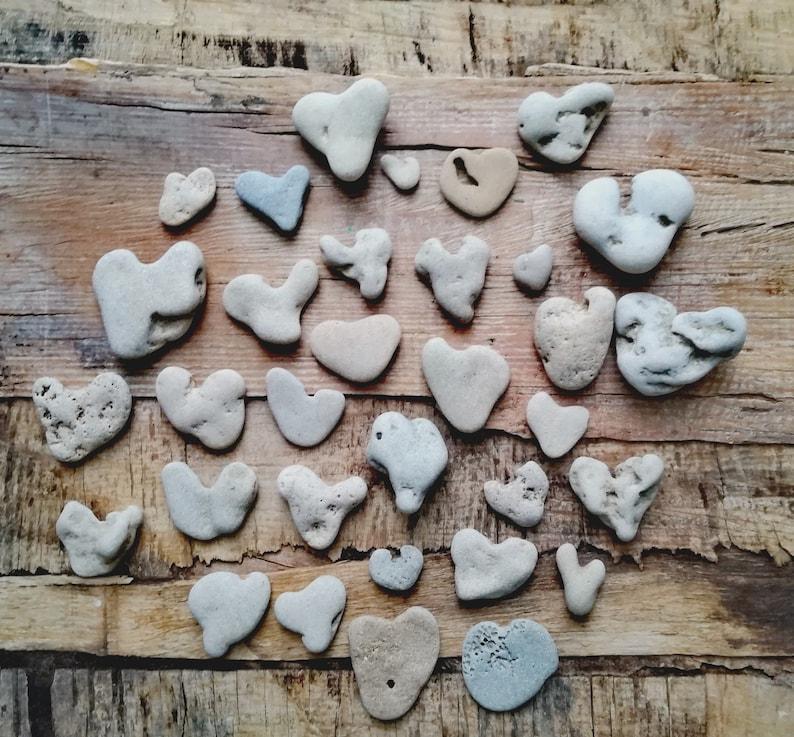 Heart Shaped Rocks for Sale Beach rocks Natural Hearts image 0