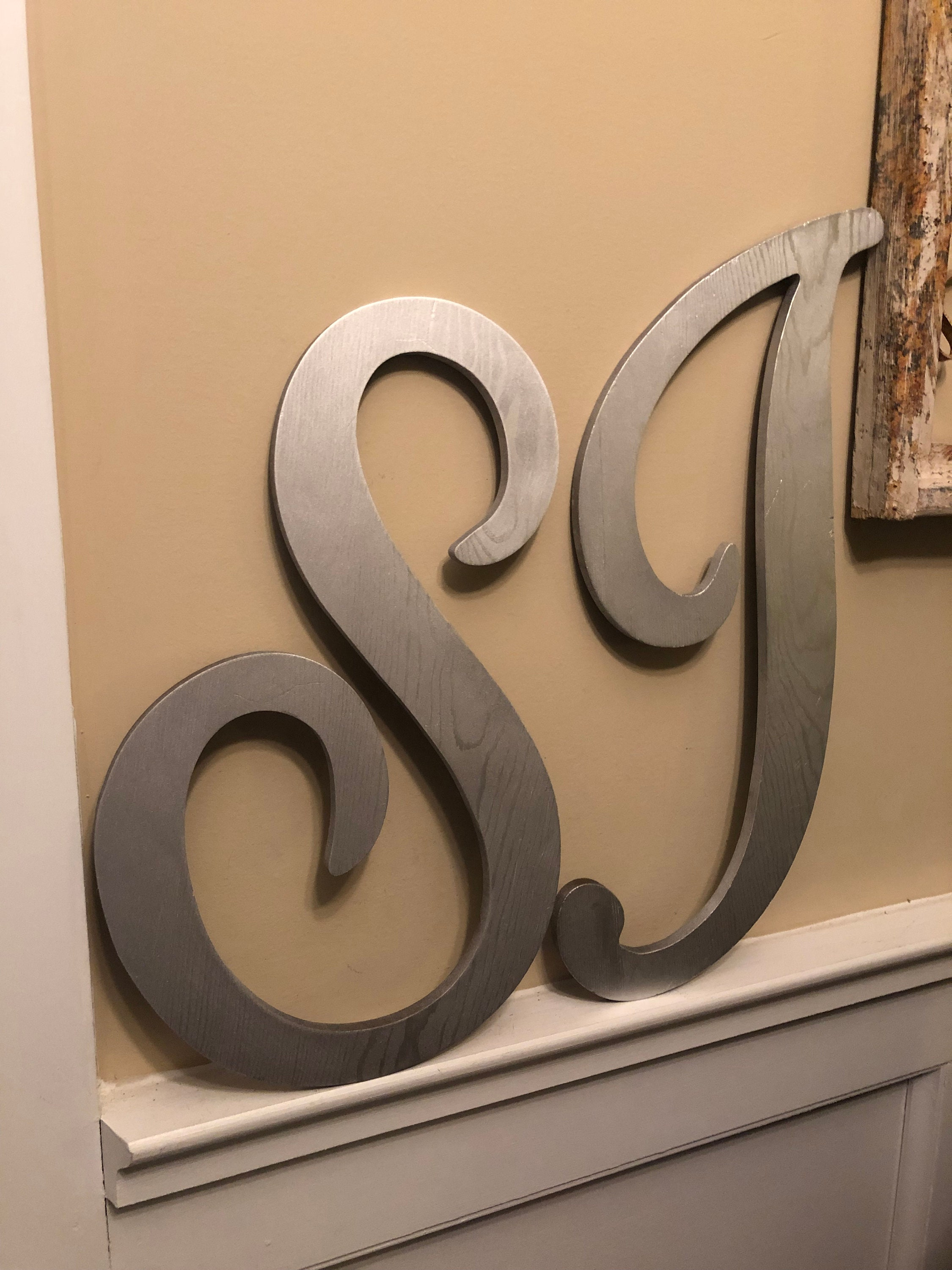 Large Letter Wall Decor Wedding Decor Wedding Prop