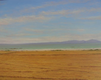 Maidens... Ayrshire ..Isle of Arran.....Scotland Oil Painting.