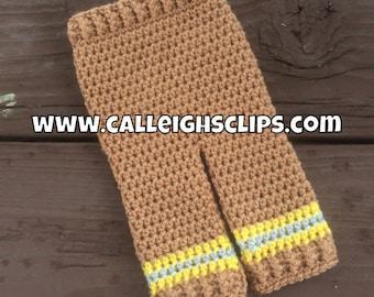 Instant Download Crochet Pattern No. 120 - Firefighter Pants