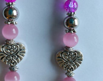 Eye glass necklace, Beaded original