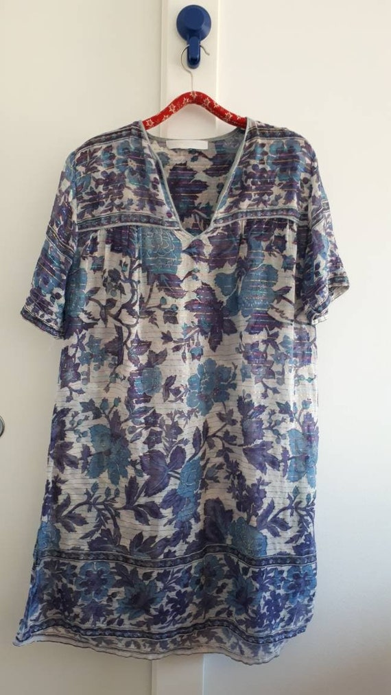 Indian gauze midi dress